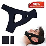 JRG Anti Snoring Chin Strap,More Effective Snoring Solution & Anti Snoring Devices,Snore Stopper- Stop Snoring Sleep Aid for Men and Women