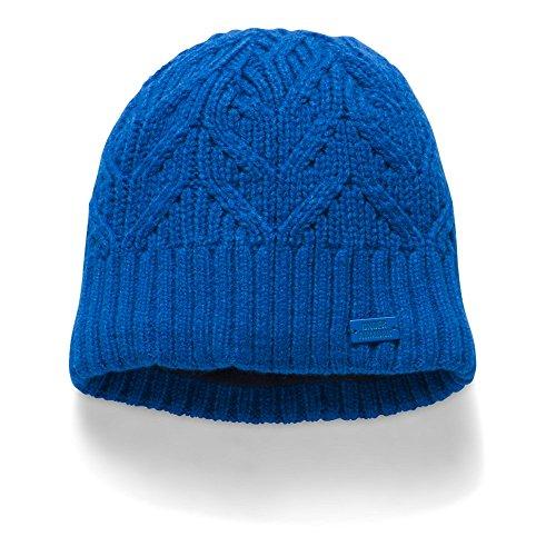 Under Armour Women's Around Town Beanie, Lapis Blue (984)/Lapis Blue, One Size