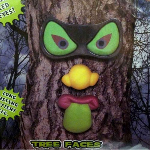 PMG Evil Eyes Tree Faces Spooky Light Up LED Halloween Tree Face Funny Face (Tree Eyes Halloween)