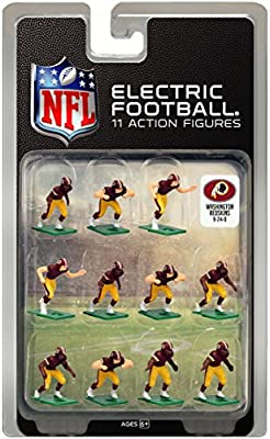 Washington Redskins Dark Uniform NFL Action Figure Set