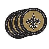 NFL New Orleans Saints Neoprene Ring of Honor Coasters, Set of 4