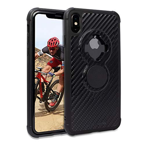 Rokform Crystal [iPhone XS MAX] Slim Magnetic Protective Cases with Twist Lock - Carbon Black ()