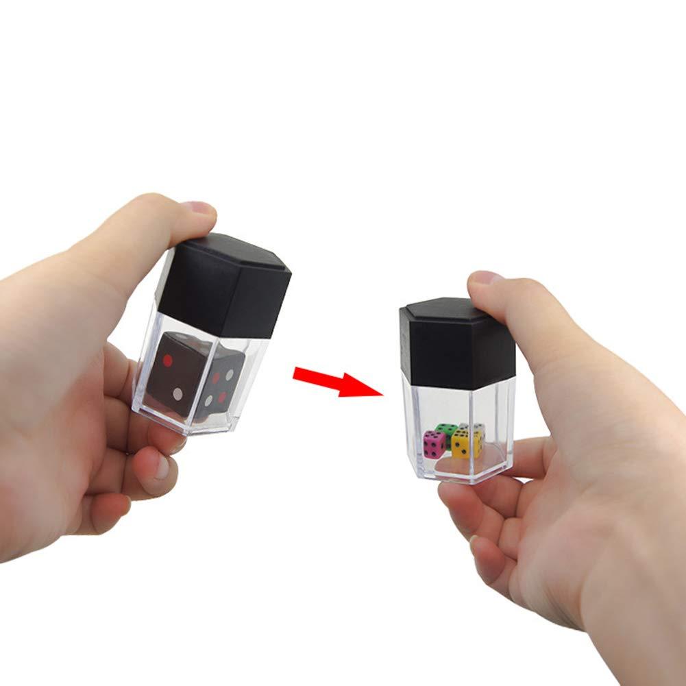 Dice Close Up Magic Trick Toys Magic Props Funny Joke Prank Toy Children Kids Gift