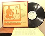 folk and traditional music of turkey LP