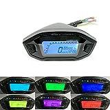 ETbotu 12V Universal Motorcycle LCD Digital