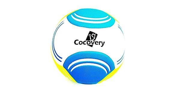 Balón Futbol para Playa-Granulado-Cocovery19 (Azul): Amazon.es ...