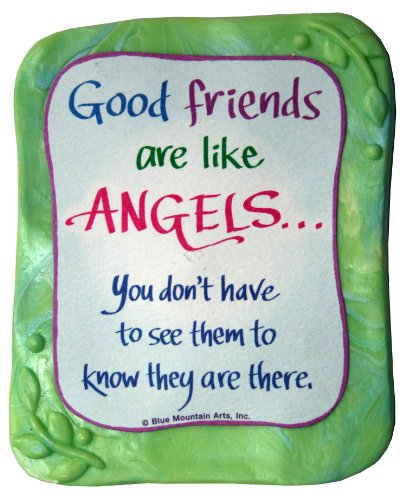 Sculpted Magnet: Good Friends Are Like Angels, 3.0