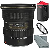 Tokina AT-X 116 PRO DX-II 11-16mm f/2.8 Lens for Canon EF (USA Warranty) with Xpix Protective Lens Case and Basic Accessory Bundle