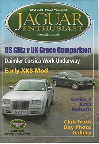Jaguar Enthusiast Magazine, May 2006 (Vol 22, No 5)