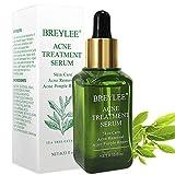 Acne Treatment Serum, Breylee Tea Tree Clear Skin Serum for Clearing Severe Acne