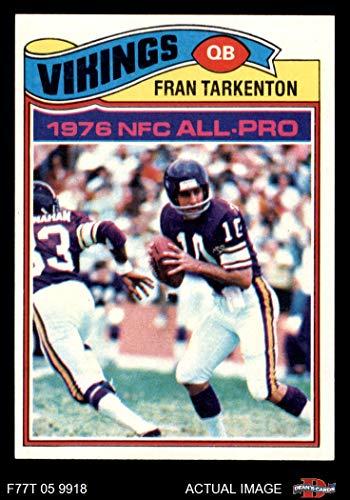 more photos 1e47f 6534d Fran Tarkenton Minnesota Vikings Card