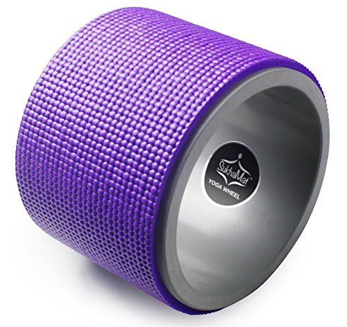 SukhaMat-Mini-Yoga-Wheel--65-Diameter--Yoga-Exercise-Wheel-for-Deeper-Stretches-Enhanced-Yoga-Postures--A-Powerful-Yoga-Roller-for-All-Levels