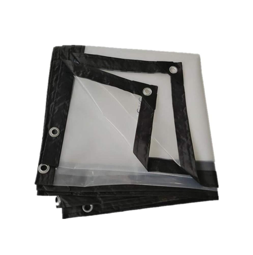 AOHMG Transparente Plane Wetterfest, vielseitiger transparenter regendichter Markisentuch für Außenbereiche,9.9x19.8ft 3x6m B07L96JG83 Zeltplanen Schnäppchen