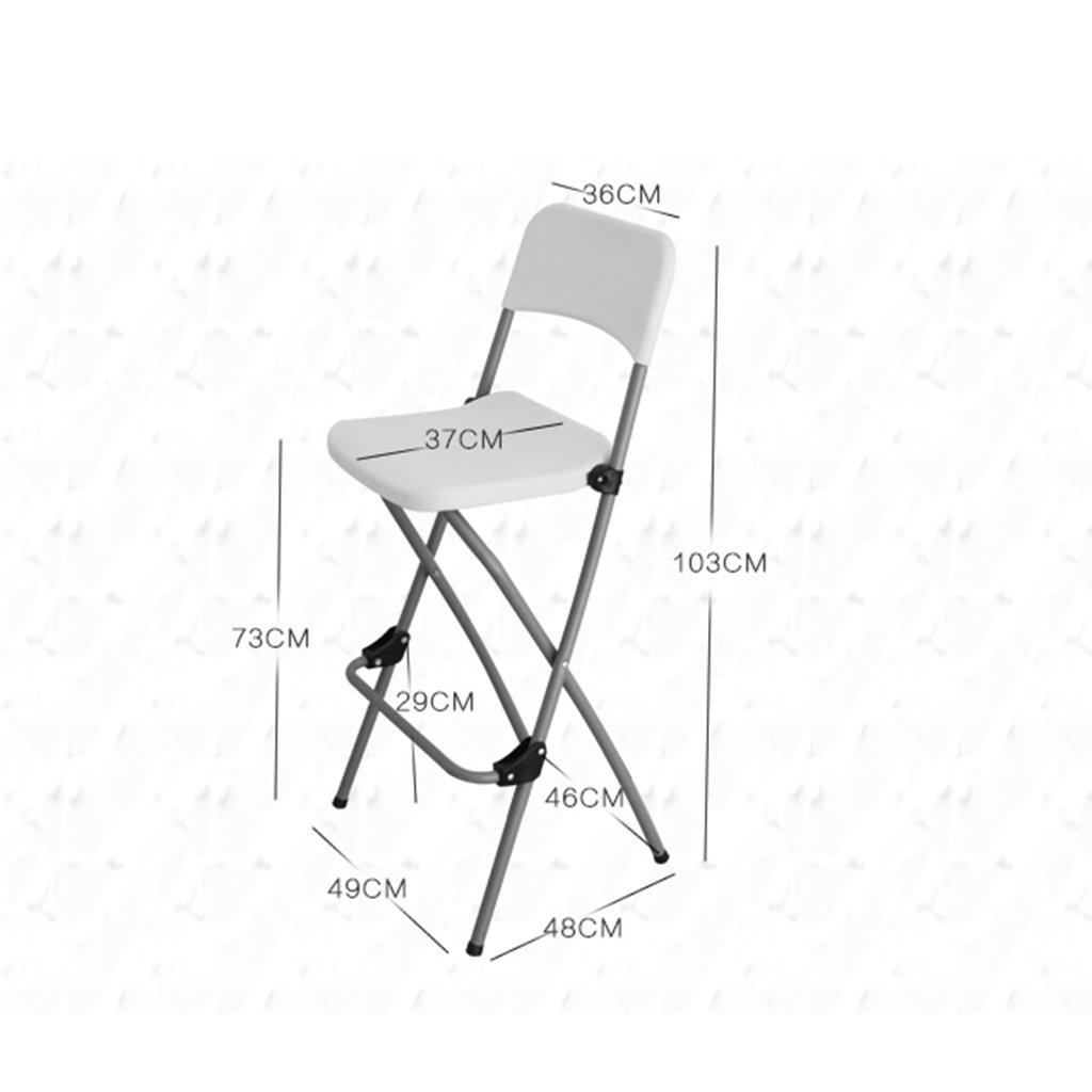 Amazon.com: Taburete plegable para sillas, taburete alto ...