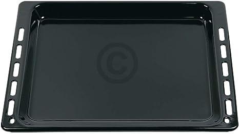 Bandeja de horno 447 x 375 x 33 mm como Whirlpool 481010683239, chapa esmaltada, resistente a los arañazos, apta para aparatos de horno, horno: Amazon.es: Grandes electrodomésticos