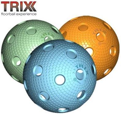 TRIX Uni Hockey / Juego de 3 pelotas para floorball MATCHBALL ...