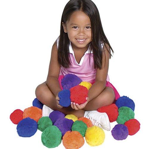 Color My Class Cotton Balls 9cm (3 1/2″)