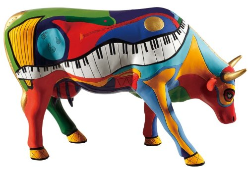 Cowparade - Moosicowly Speaking - Museum Edition - Large - Cow - Capital Gift Texas Shop Of
