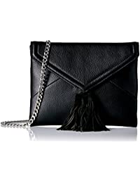 Izzi Envelope Clutch With Chain Crossbody Strap