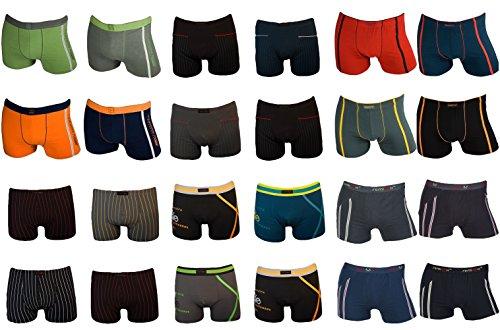 8 Stück Kids Jungen Remixx Boxershorts Pants Unterhosen Retroshorts Boy Unterwäsche Baumwolle Gr. 128 - 170 (128-134)