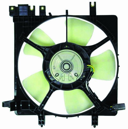 Radiator Cooling Fan w/ Motor & Shroud 45121AE02A for 01-04 Subaru Outback 3.0L