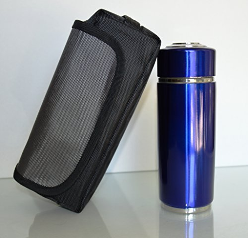 Nano Alkaline Energy Ionizer Filter Flask Water Bottle Blue Cup Booster Energy Cup