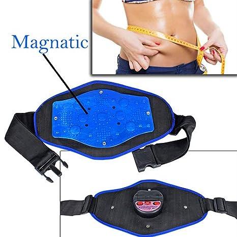 ab5623beb4d88 Frackkon Frackkon Magnetic Slimming Massager Belt Vibration Tummy Control  Shapewear Stomach Fat Burner Sauna Suit Cincher ...