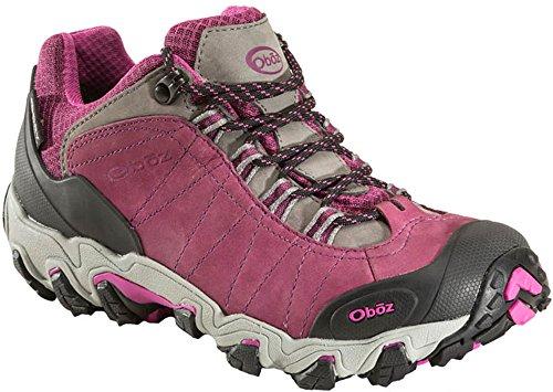 Oboz Bridger Low B-Dry Womens Spatzierungsschuhe - SS18 Pink