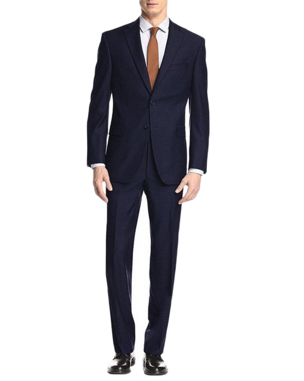 Love Dress Two Button Mens Suit Modern Classic Fit Navy 5XL