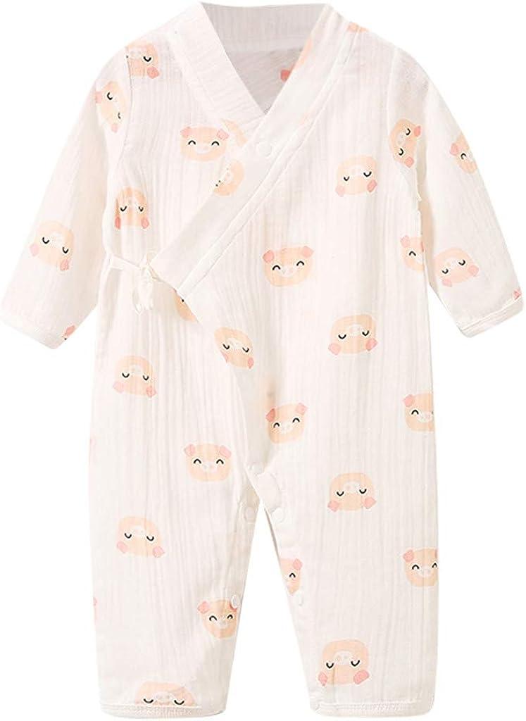 Sayla Baby M/ädchen Kleid Kimono Robe Neugeborenen Baumwolle Garn Robe Baby Strampler Infant japanischen Pyjamas