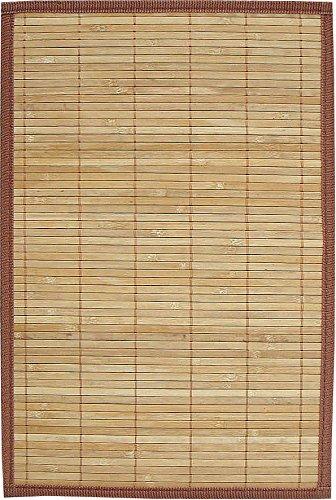 AVANTI TRENDSTORE Tappeto in Bamboo color legno. ca. 120 x 180 ...