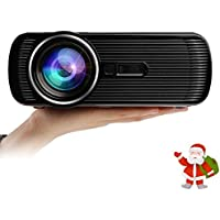 Truelight Mini LED Projector 800*480 HD Home Theater with USB HDMI VGA SD TV Enjoy Vedio Movie Multimedia