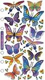 Sticko Classic Stickers, Foil Butterflies