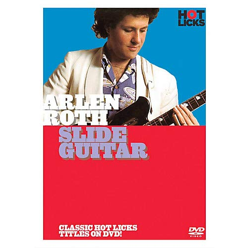 Arlen Roth - Slide Guitar Music Sales America Series DVD Written by Arlen Roth- Pack of 2