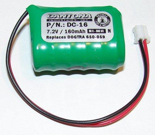 Ultralast DC-16 Replacement Sportdog Field Trainer SD-400 Transmitter Battery