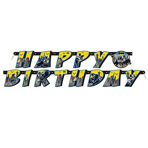 6ft Batman Birthday Banner ()