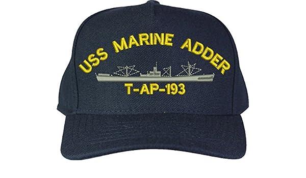 MilitaryBest Custom Marine Adder T-AP Class Ship Cap