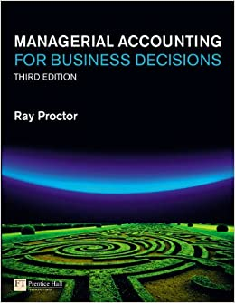 Managerial Accounting for Business Decisions: Amazon.co.uk: Mr Ray