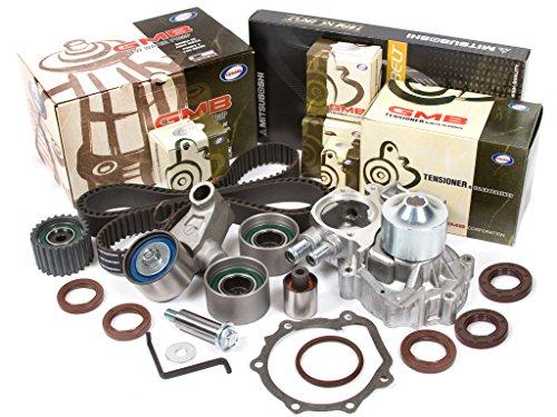 Evergreen TBK328MWP 02-05 Subaru Impreza WRX Turbo 2.0 DOHC EJ205 Timing Belt Kit GMB Water (Wrx Turbo Kit)