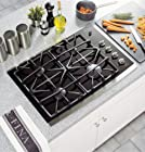 "Profile 30"" Gas Cooktop with 4 Sealed Burners PowerBoil 15 000 BTU Burner"