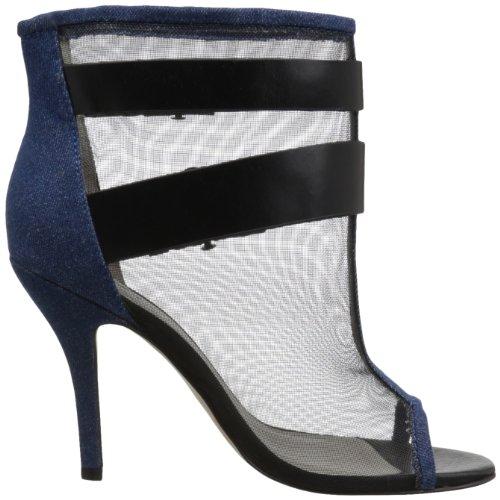 Delle Nero Donne Ankleboots Blu Stiletti Femminile Jeans Diesel Rullo 7wqqx58C