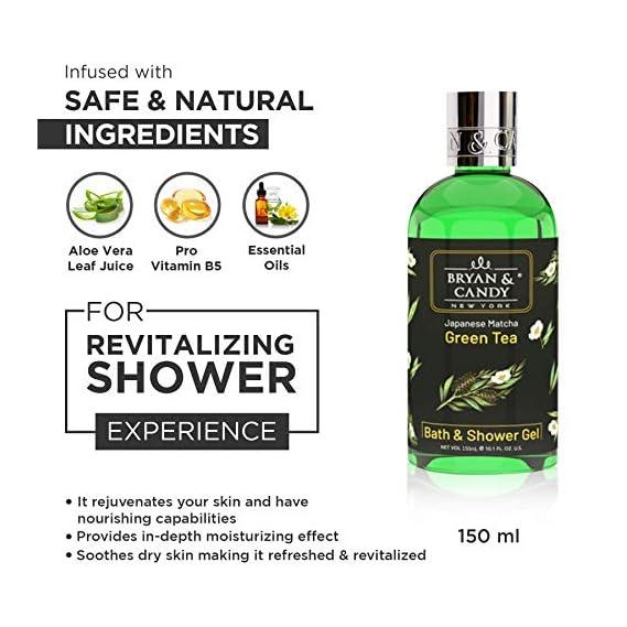 Bryan & Candy New York Shower of Delights Shower Gel Kit (Pack of 4) for Clean Moisturized Skin