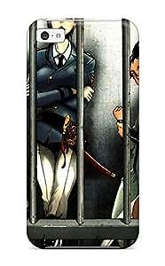 Fashion Tpu Case For Iphone 5c- Deadman Wonderland Defender Case Cover