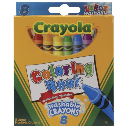 Crayola Coloring Large Washable Crayons