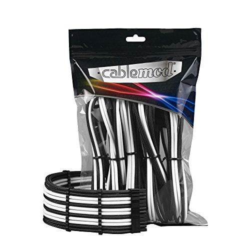 - CableMod PRO ModMesh Cable Extension Kit (Black/White)