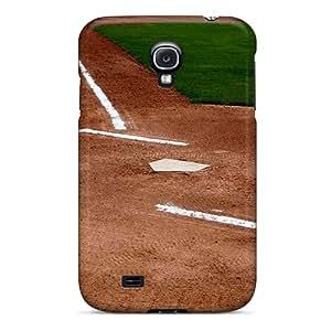 Cute Appearance Cover/tpu MngWgXn5317GTOPj Baseball Diamond Case For Galaxy S4