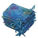 2015 New 25Pcs/pack 12x9cm Coralline Organza Jewelry Pouch...