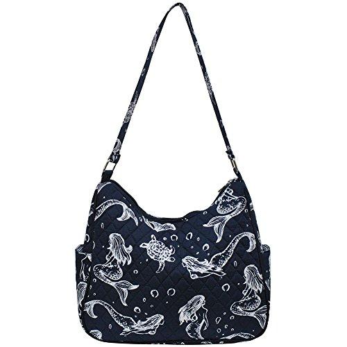Hobo Print Mermaid Bag Fashion NGIL Quilted qPwOwva