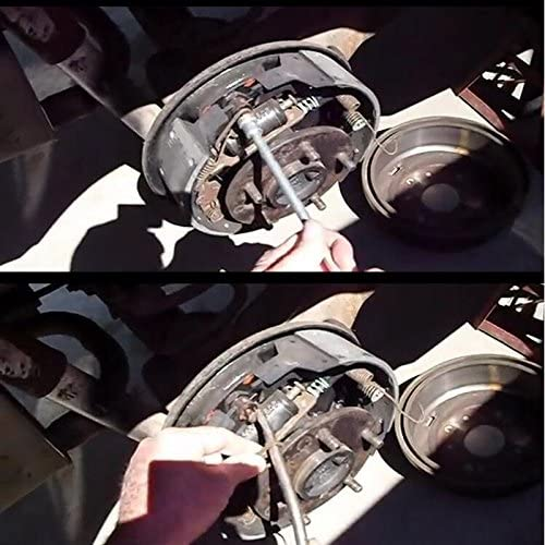 WOVELOT 1 Stueck Bremstrommel Zangen Bremse Fruehling Installer Remover-Tool