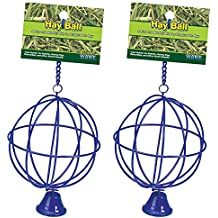(2 Pack) Ware Manufacturing Hay Balls, Assorted Colors